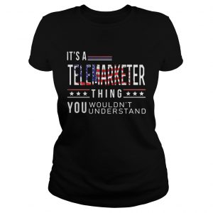 Its a telemarketer thing you wouldnt American flag veteran Independence day  Classic Ladies